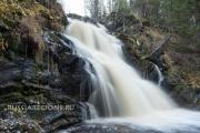 Водопад Юканкоски (Белые мосты)