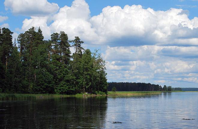 Озеро Глубокое, Выборгский район Ленинградской области