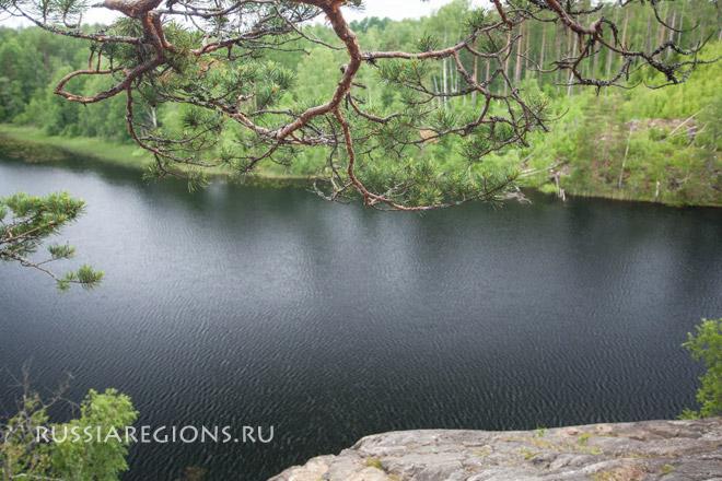 Озеро Ястребиное, Приозерский район Ленинградской области