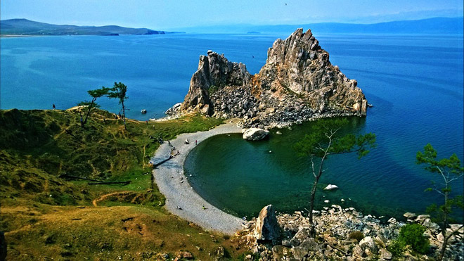 Озеро Байкал,бухта