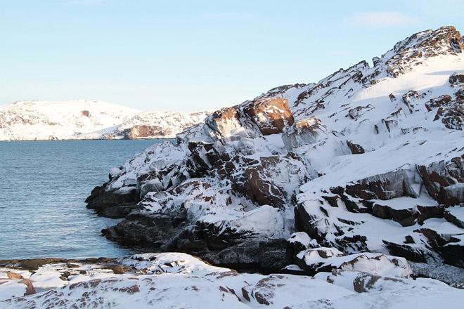 Мурманская область пейзаж зима