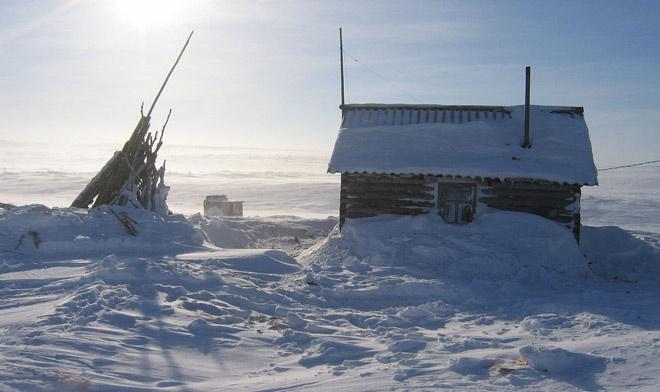 Мурманская область зимой
