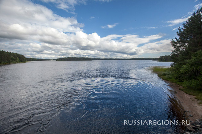 Суоярвский район река