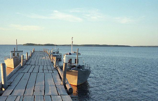 Озеро Водлозеро Карелия