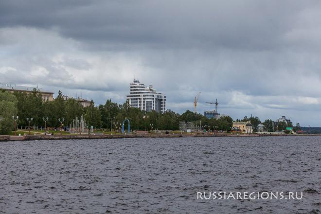 Онежское озеро, Петрозаводск
